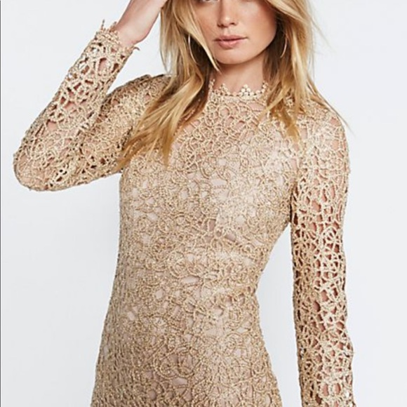5af3cbcb53 Brand New with tags Alice McCall gold mini dress